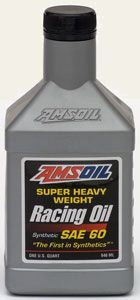 AMSOIL SAE 60 Synthetic Racing Oil (AHR)