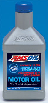 AMSOIL Synthetic Diesel & Marine Motor Oil SAE 15W-40