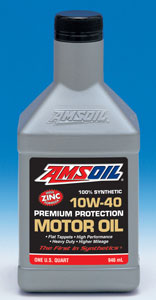 AMSOIL SAE 10W-40 Synthetic Motor Oil