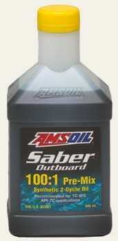 AMSOIL Saber Synthetic 100:1 Pre-Mix 2-Cycle Oil (ATP)
