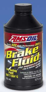 AMSOIL Series 600 DOT 4 Racing Brake Fluid (BF4)