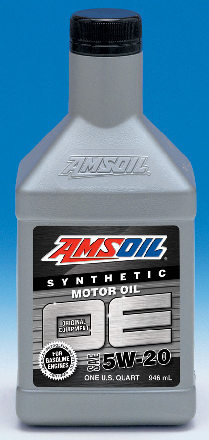 Amsoil synthetic motor oil amsoil oe for Life of synthetic motor oil
